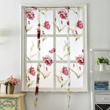 online get cheap floral sheer curtains aliexpress com alibaba group