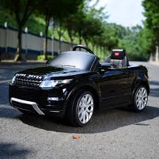 car range rover land rover kids 12v double engine ride on car electric remote
