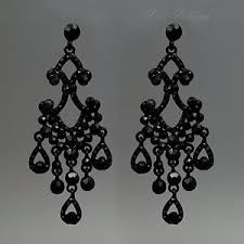 black chandelier earrings black chandelier earrings ebay