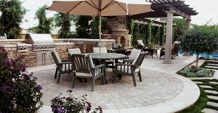 Paver Patios Installed In The Backyard Paver Patio Ideas Amazing In Small Home Remodel Ideas
