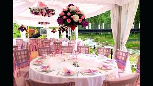 Outdoor Living Summer Table Centerpieces Decorating Idea With