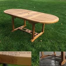 Grade A Teak Patio Furniture by Patio Table Set Agean Table U0026 Newyork Folding Chair