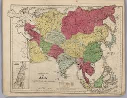 Political Map Asia by Political Map Of Asia David Rumsey Historical Map Collection