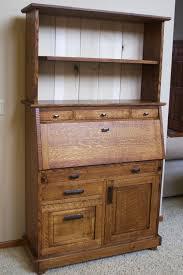 Secretary Style Desk by Nigl Furniture Llc U2014mission Style Secretary Desk