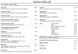 the kitchen table menu kitchen table cafe menu menu for kitchen table cafe aspendale