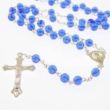 catholic rosary royal blue catholic rosary our center