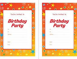 party invitations free birthday party invitations templates
