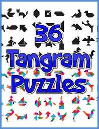 tangram puzzle 36 tangram puzzles by lessonsense teachers pay teachers