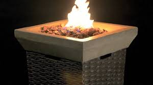 Gas Fire Pit Bowl Somersville Firebowl Youtube