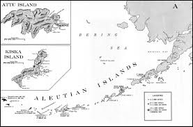 Aleutian Islands Map Hyperwar At Close Quarters Part V