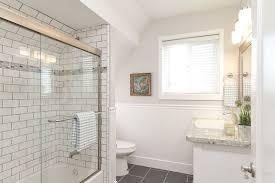 Subway Tile Bathroom Best Subway Tile Looks For The Bathroom