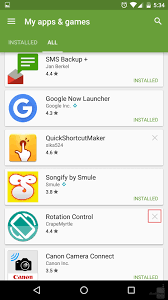find android app how to find uninstalled android apps and and reinstall them