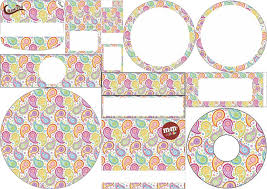 paisley free printable candy buffet labels oh my fiesta for