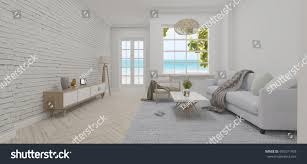modern luxury interior design living room stock illustration