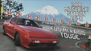 1988 mitsubishi starion forza 4 fujimi kaido touge 1988 starion esi r youtube