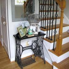 sewing machine table ideas old sewing table console table sewing machine table ideas