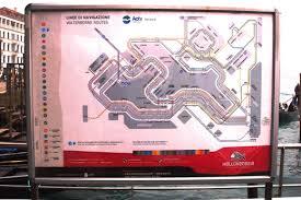venice vaporetto map venice vaporetto water route map venice nu
