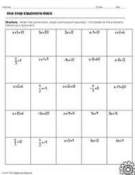solving 2 step equations maze solving equations pinterest