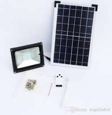 solar led flood lights solar 10w led flood light with remote control cctv direct
