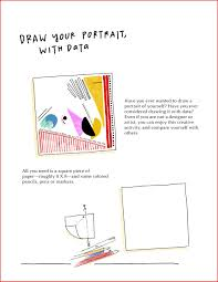 how to draw your own selfie u2026 using your personal data