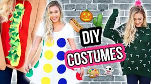 ideas for homemade halloween costume diy halloween costume ideas for 2016 laurdiy youtube