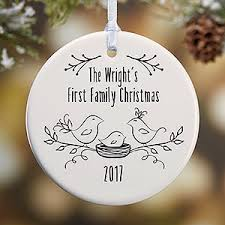 personalized famliy ornament our family