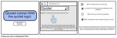 quizlet tutorial video ict project storyboard by minalimehrotra