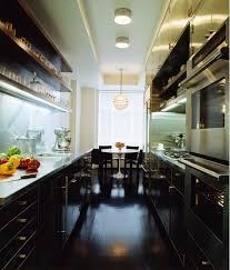cabinets u0026 storages black solid stylish galley kitchen cabinet