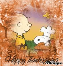happy thanksgiving feat snoopy e brown picture 118538945