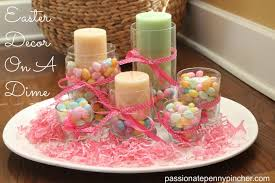 Dollar Tree Decorating Ideas Easter Decor On A Dime My 7 Centerpiece Passionate Penny Pincher