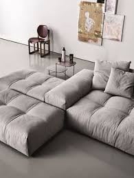 Modular Upholstered Sofa Pixel By Saba Italia Grey Abstract - Modern contemporary sofa designs