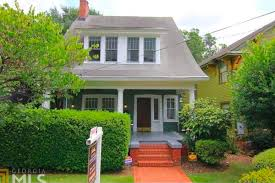 inman park bungalow from 1910 strives for a hair over 1m curbed