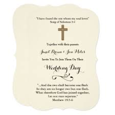 wedding bible verses bible verse wedding invitations announcements zazzle