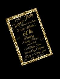 colors 60th birthday invitation wording for mom also black and