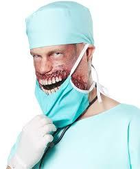Surgeon Halloween Costume Zombie Doctor Men U0027s Halloween Costume Doctor Bloodbath Costume