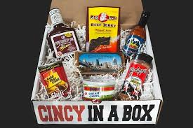 cincinnati gift baskets 7 item cincy in a box cincy in a box