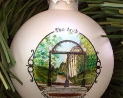 georgia southern sweetheart circle christmas ornament