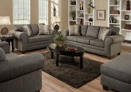 Loveseat With Ottoman Graphite Fabric Sofa U0026 Loveseat Set W Optional Ottoman U0026 Chair