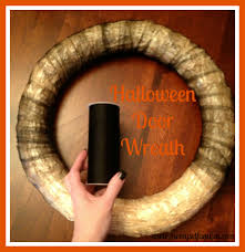 Halloween Decorating Doors Ideas Halloween Decorations Door Wreath Me Myself And Jen