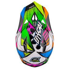 oneal motocross helmet o u0027neal 10series helmet glitch black neon 2016 mxweiss motocross shop