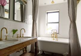 Clawfoot Tub Shower Curtain Liner Grey Fabric Shower Curtain For Oval White Clawfoot Tub Plus