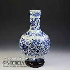 Blue Vases Cheap Jingdezhen Ceramic Vase Chinese Style Flower Vase Blue And White