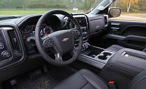spyker interior 2017 chevrolet silverado in depth model review car and driver