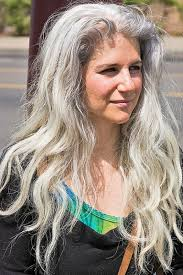 hairstyles for long grey hair glamour women hairstyle