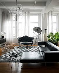 home design 89 fascinating black sofas living rooms