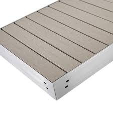 premium aluminum azek pvc dock section slate grey u2014 tommy docks