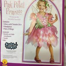 pink fairy toddler girls halloween costume 3t 4t pink