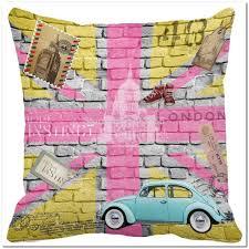 Union Jack Home Decor London Paris Eiffel Pillows Pillow Suggestions With More Than
