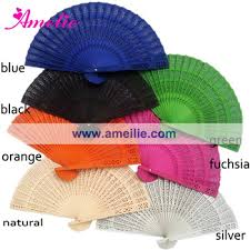 sandalwood fans wholesale engraved sandalwood fans with assorted colors buy