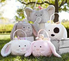 plush easter basket white bunny easter bag our plush soft sided bag is